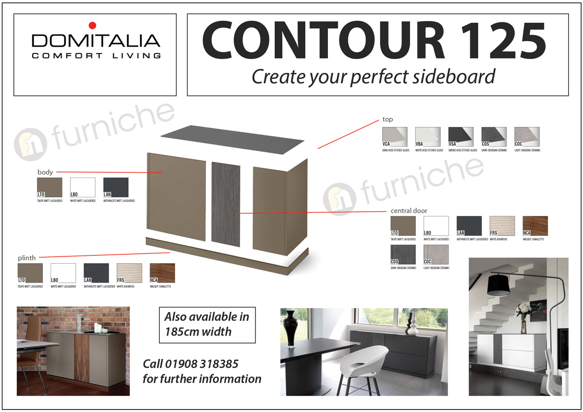 Dining domitalia domitalia contour 125 designer for House configurator